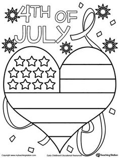 236x314 Fourth Of July Coloring Pages Free Printable, Lovers And Free