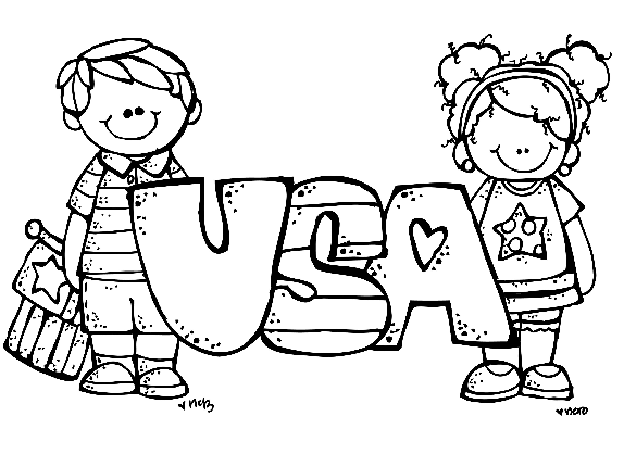 574x418 Free Of July Coloring Pages For Kids