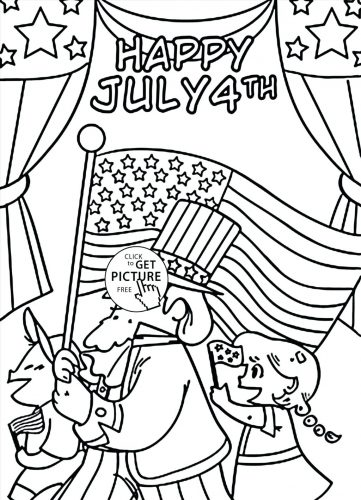 361x500 Coloring Pages Fourth Of July Coloring Pages Download This