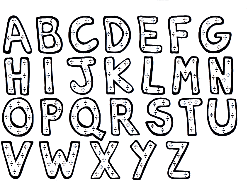 846x660 Printable Abc Coloring Pages Free Abc Coloring Pages A Z