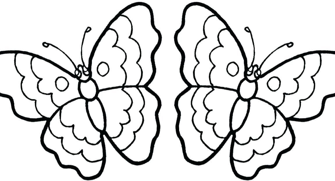 1152x623 Coloring Page Of Butterfly Adult Difficult Big Butterfly Coloring