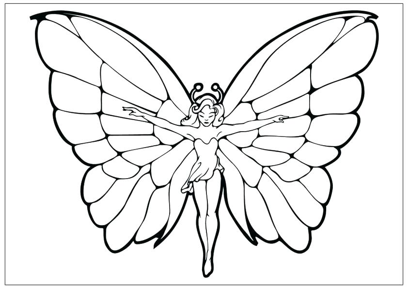 842x595 Coloring Pages Of A Butterfly Coloring Page Of Butterfly Free