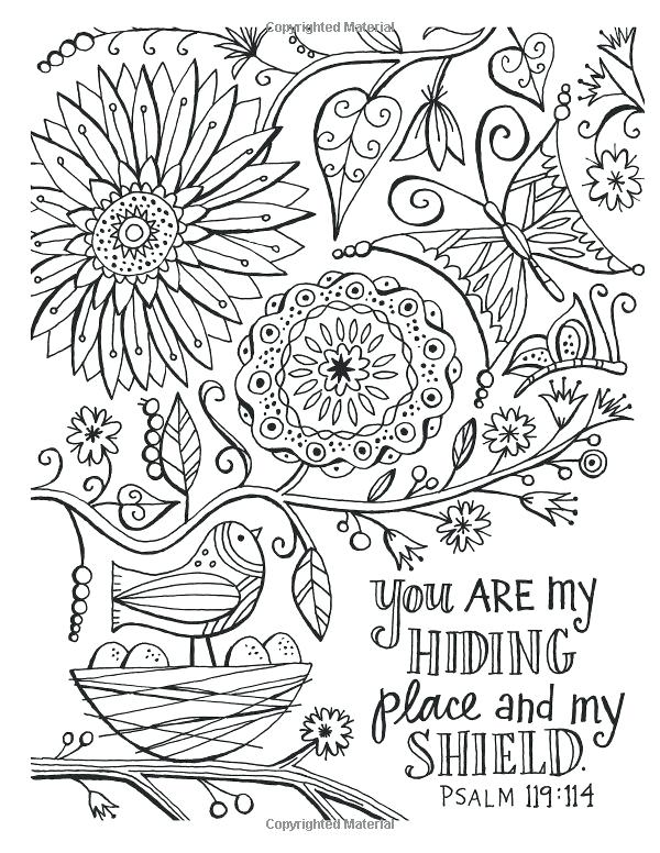 Free Adult Christian Coloring Pages