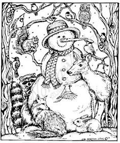 Free Adult Christmas Coloring Pages at GetDrawings | Free ...