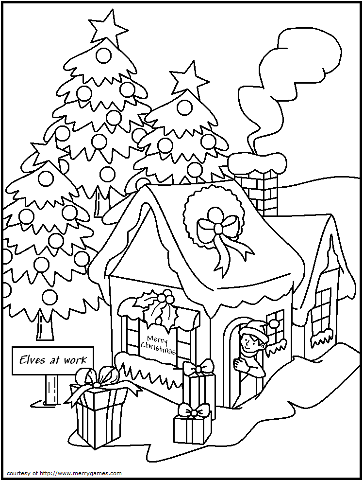 Free Adult Christmas Coloring Pages At Getdrawings Free Download