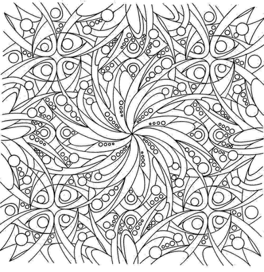 1000x1031 Adult Coloring Pages Flowers Free Printable Pat Catan S Blog