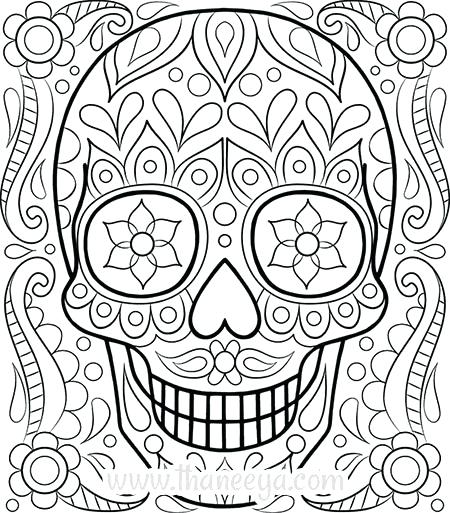 450x513 Free Printable Adult Coloring Pages