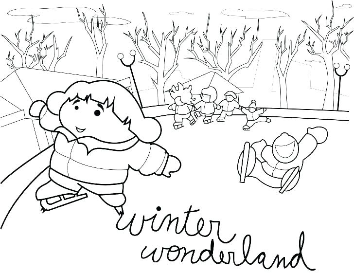 728x563 Printable Winter Animal Coloring Pages Winter Animals Coloring