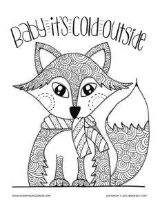 232x300 Winter Coloring Pages Adults Lovely Free Printable Winter Coloring