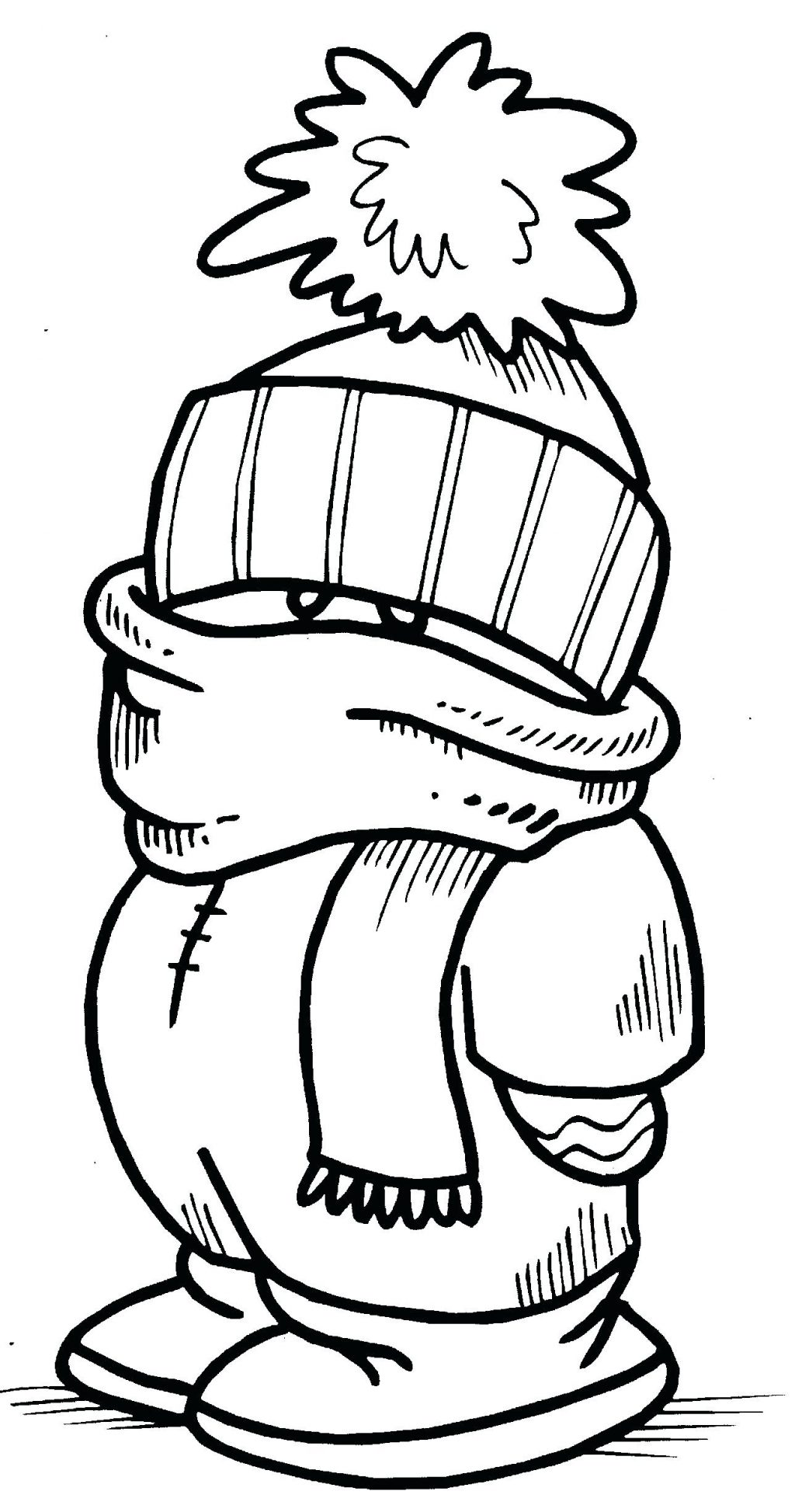 1024x1947 Coloring Page Winter Color Pages Printable Interactive Coloring