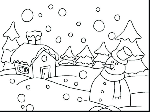 618x463 Coloring Pages Free Printable Coloring Pages For Astounding Winter