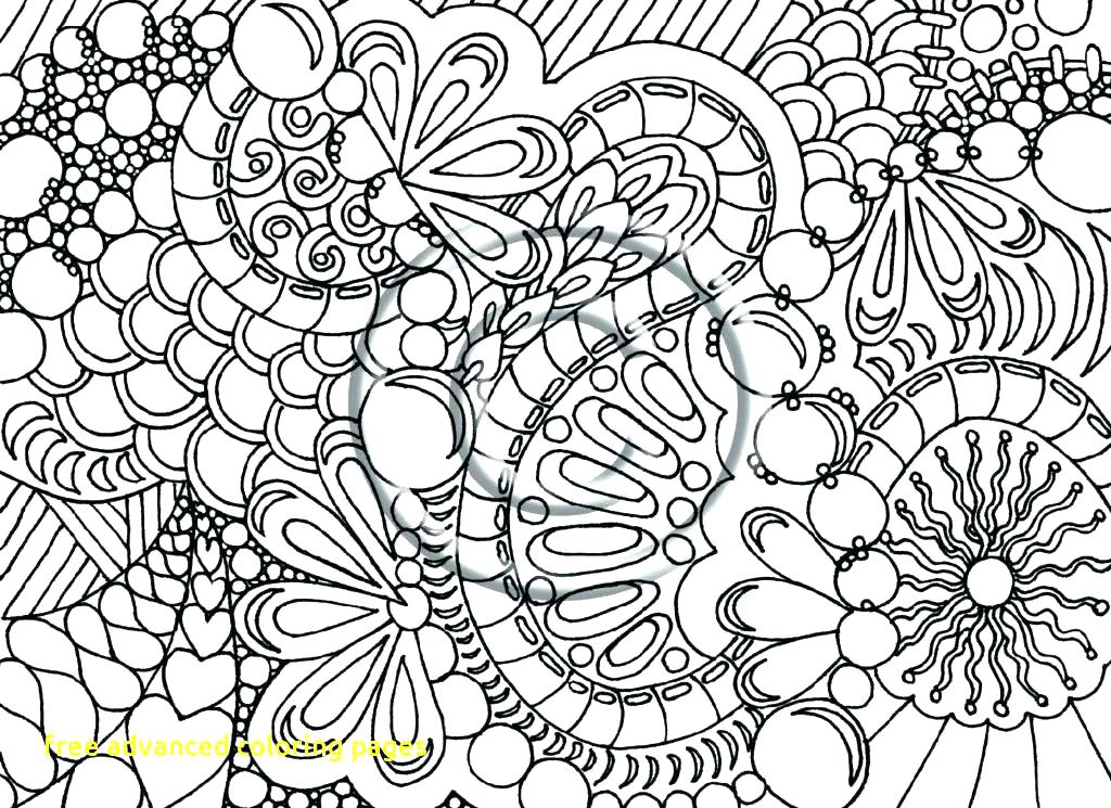 1024x745 Free Printable Advanced Coloring Pages Classy Printable Advanced