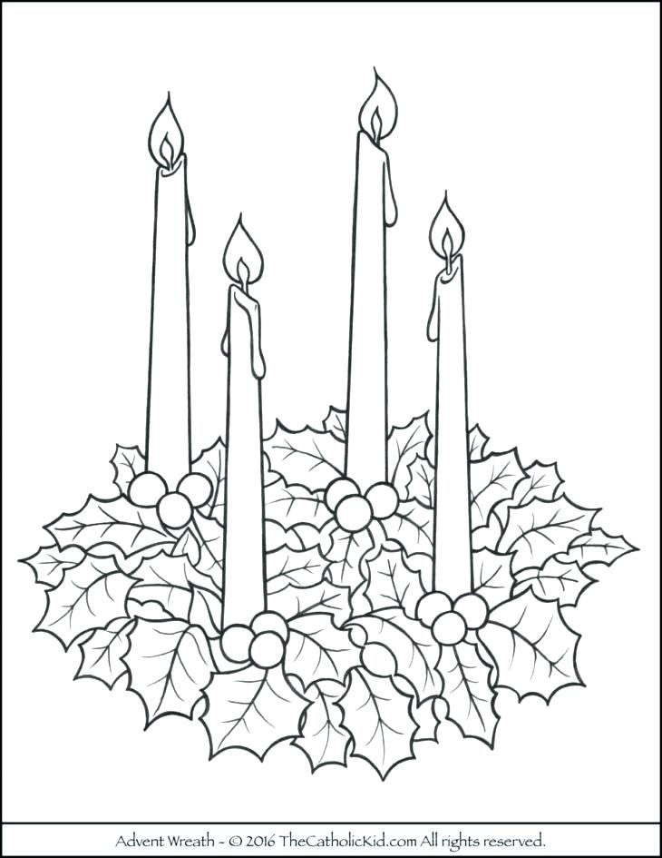 730x945 Advent Coloring Pages Christmas Advent Wreath Coloring Pages