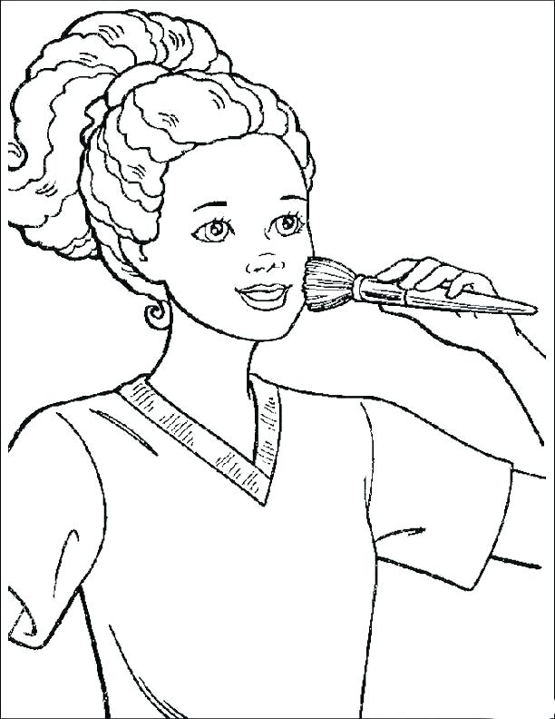 612x792 African American Coloring Pages Awesome Famous Coloring Pages Kids