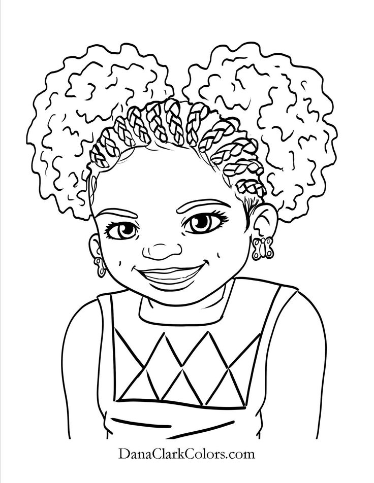 Free African American Coloring Pages For Kids