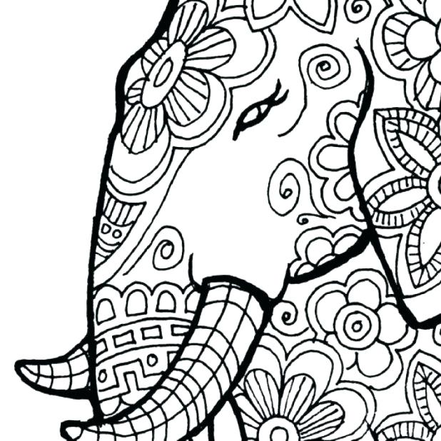 618x618 African Coloring Pages Coloring Book App For Adults Mandala Relax