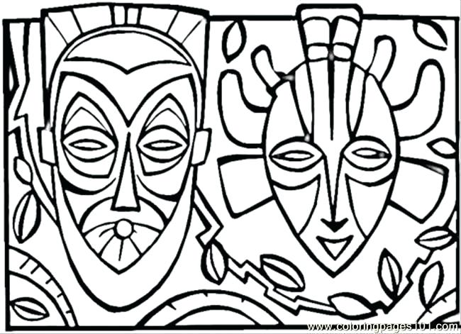 650x471 African Coloring Pages Coloring Pages Kids Coloring Pages