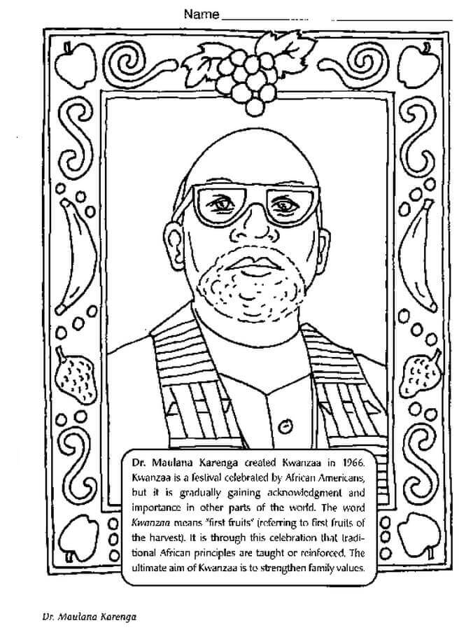 666x900 Free Printable Black History Month Coloring Pages