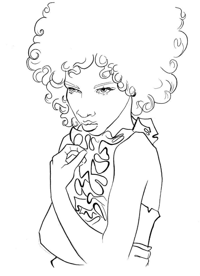 850x1170 Famous African American Coloring Pages Free Download