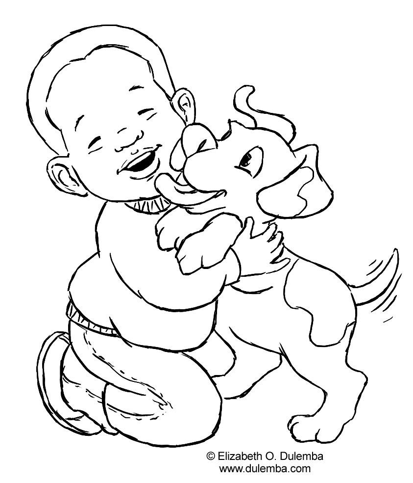 843x984 Little Boy Coloring Pages