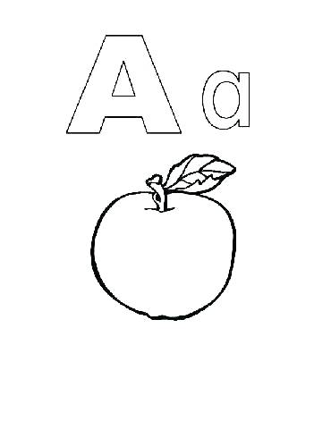 370x480 Alphabet Coloring Pages For Toddlers Letter B Coloring Page
