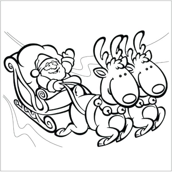 600x602 Fun Christmas Coloring Pages Coloring Pages For Grade Grade