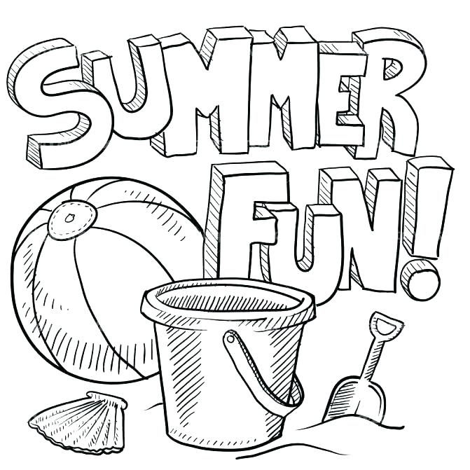 671x671 Fun Coloring Pages Fun Coloring Pages To Print Also Fun Summer