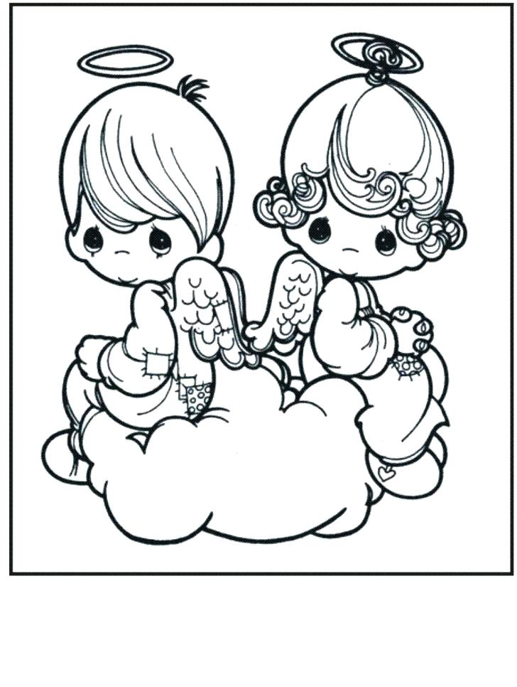 728x966 Free Angel Coloring Pages Anime Couple Coloring Pages Free