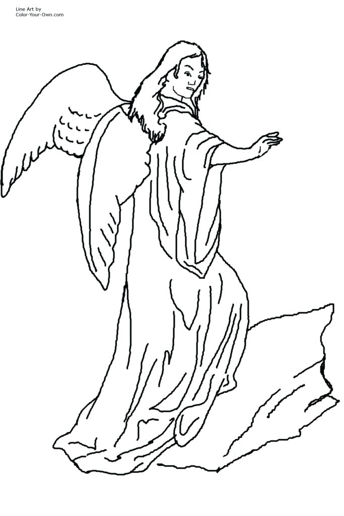 683x1024 Free Angel Coloring Pages Coloring Pages Retro Angels The Graphics