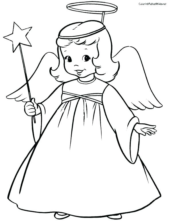 603x779 Angel Coloring Pages Angel Coloring Pages Printable Colouring