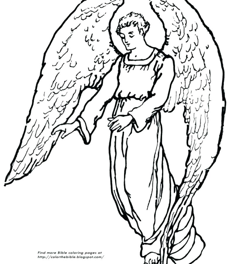 786x900 Angel Coloring Pages For Adults Angel Coloring Pictures For Adults