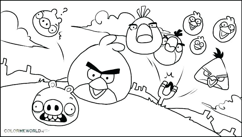 775x438 Angry Birds Coloring Games Coloring Pages Bird Angry Bird Coloring
