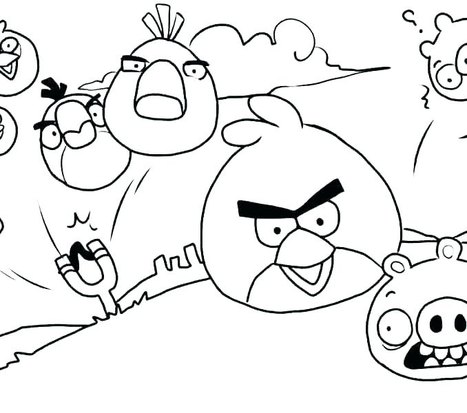 678x600 Angry Birds Coloring Page Index Coloring Pages Angry Birds Star