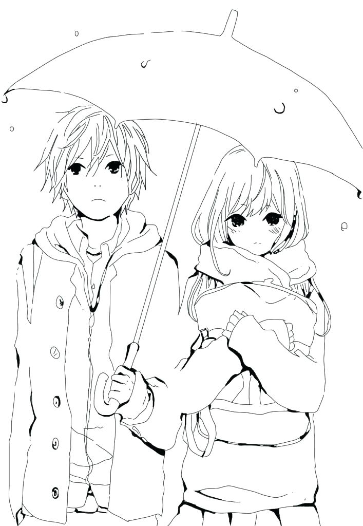 Free Anime Coloring Pages at GetDrawings.com | Free for personal use ...