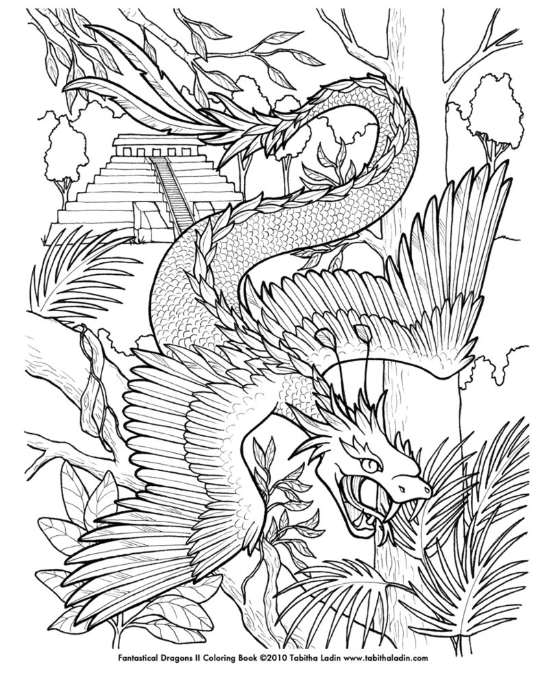 786x1017 Sampler Free Printable Fantasy Coloring Pages For Adults Icolor