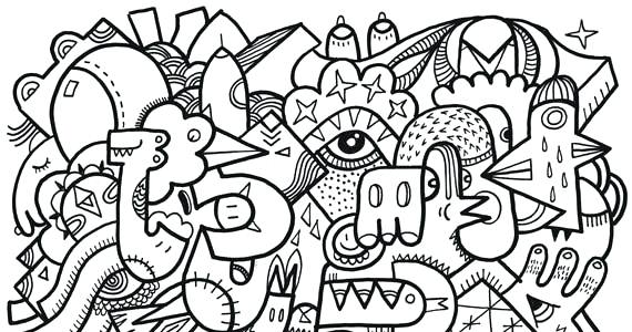 570x300 Stress Relief Coloring Pages As Well As Check Out These Free Adult