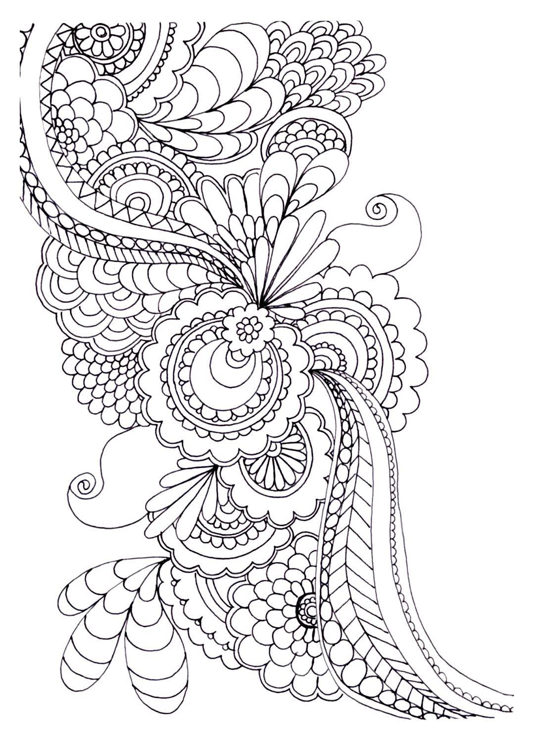 1081x1495 To Print This Free Coloring Page Adult Zen Anti Stress
