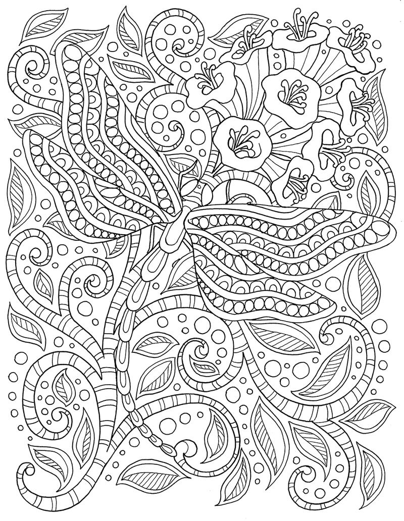 800x1032 Unique Adult Coloring Pages Sizze Collection Printable