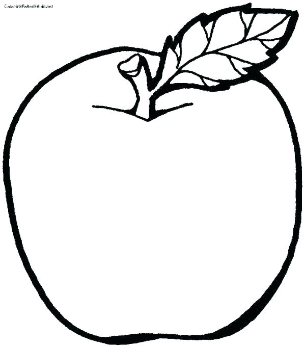 597x681 Free Apple Coloring Pages Free Fruit Coloring Pages Fruit Color