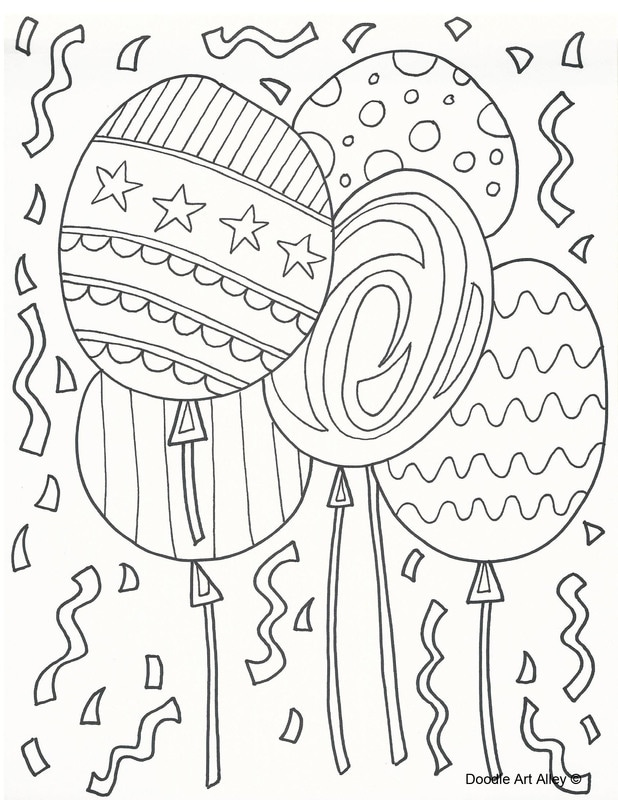 618x800 Free Printable Doodle Art Coloring Pages