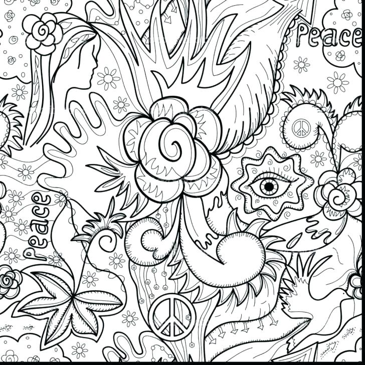 728x728 Printable Abstract Coloring Pages Printable Abstract Coloring