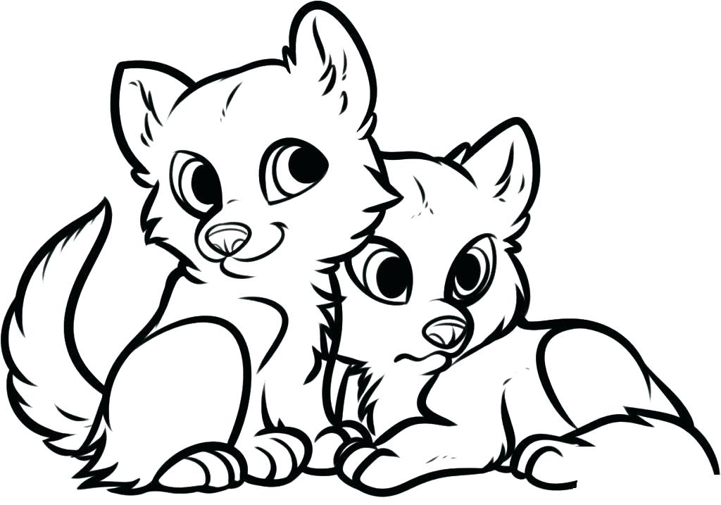 Free Baby Animal Coloring Pages At Getdrawings Free Download