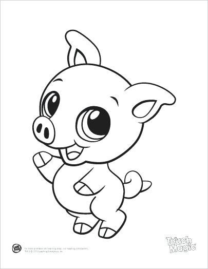 405x524 Baby Animal Coloring Page Duck Animal Shape Template Baby Farm