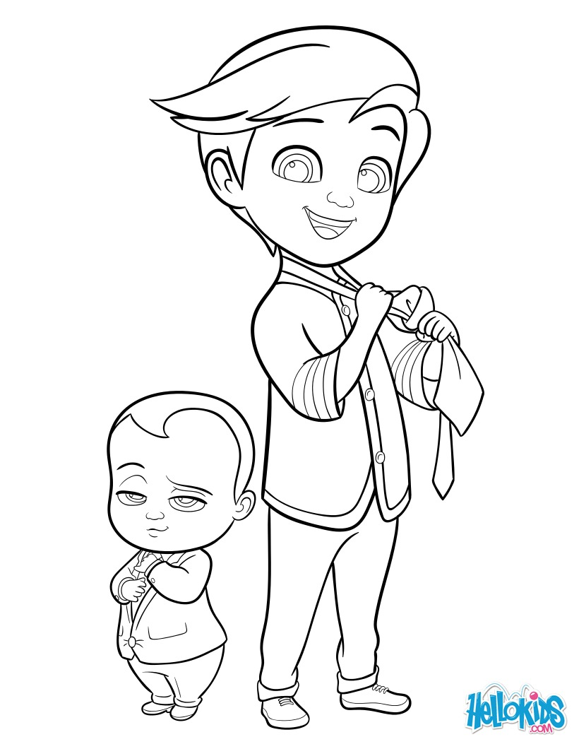 Free Baby Coloring Pages