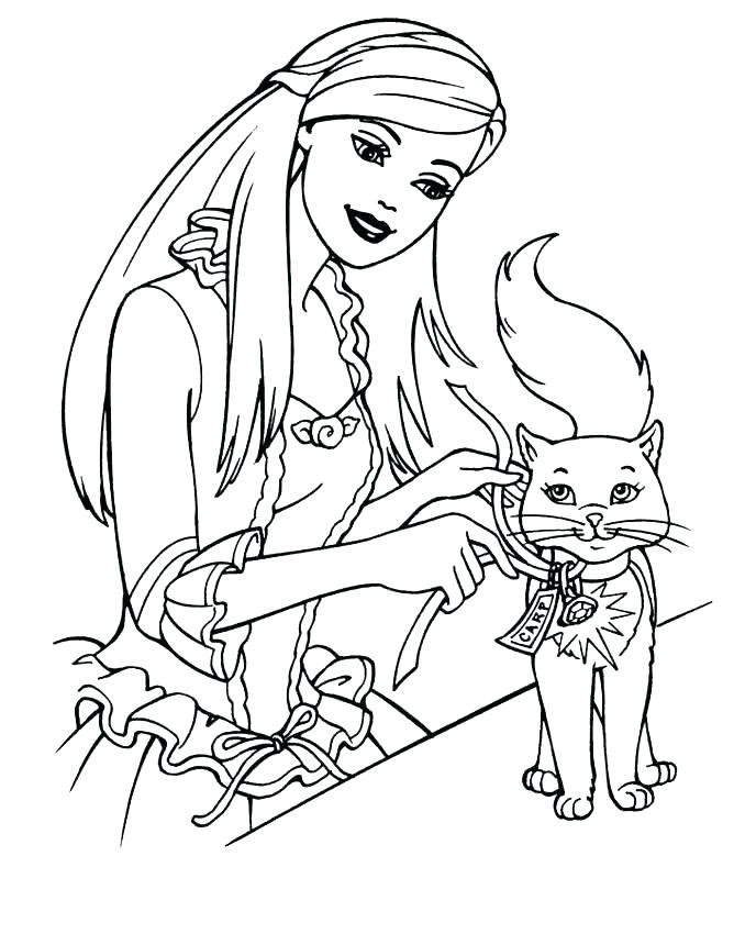 678x850 Free Coloring Pages Barbie Free Coloring Pages Barbie Free