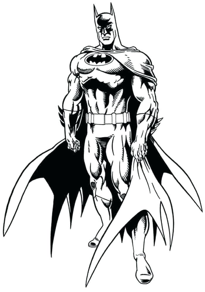 Free Batman Coloring Pages At Getdrawings Com Free For Personal