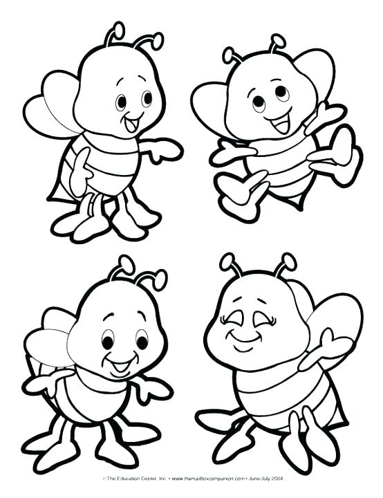 554x720 Bumble Bee Coloring Pages Free Printable Bumble Bee Coloring Pages
