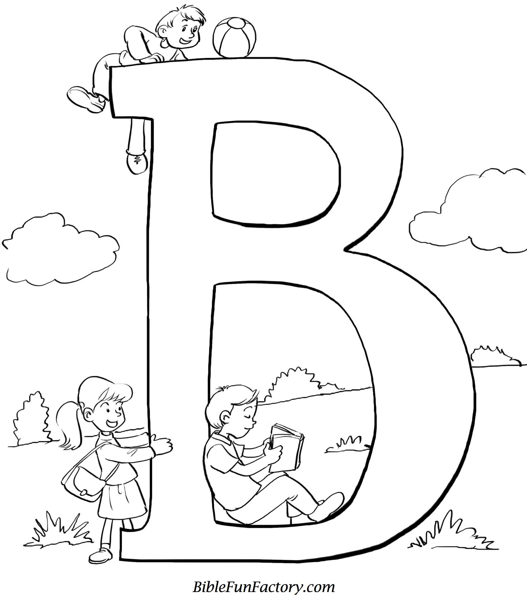 1773x2000 Bible Coloring Sheet B Is For Bible Bible Lessons, Games
