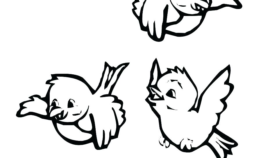 960x544 Bird Nest Coloring Page Free Bird Coloring Pages Free Bird