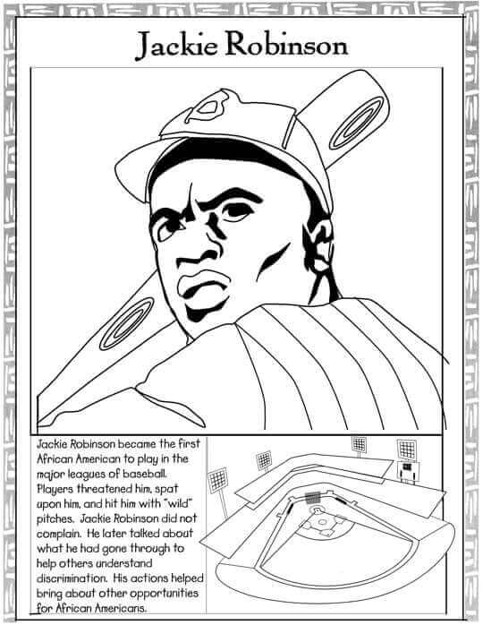 Free Black History Coloring Pages